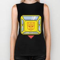 Transformers - Bumblebee Biker Tank