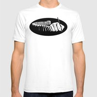 dominoes  Mens Fitted Tee White SMALL