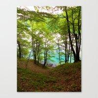 Plitvice Lakes Canvas Print