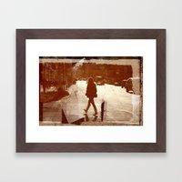 urbanism Framed Art Print