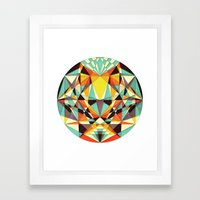 Beauty Is inside the Beholder Framed Art Print