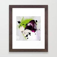 Fluctuating Framed Art Print