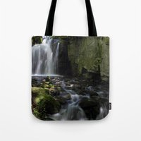 Waterfall At Lumsdale II Tote Bag