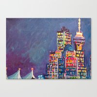 From Vancouver Harbour Canvas Print