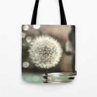 Dandelion In A Jar Tote Bag