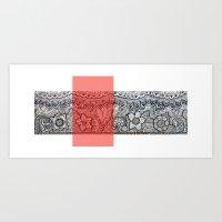Four Sides Of A Box (iii… Art Print