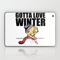 Gotta love winter Laptop & iPad Skin