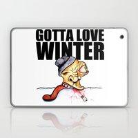 Gotta Love Winter Laptop & iPad Skin