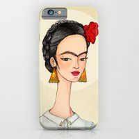 iPhone & iPod Case featuring Frida by Renia