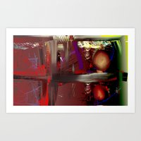 Traffic Jamm Art Print