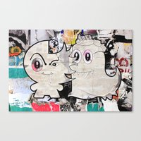 Two Sugar Monsters Canvas Print
