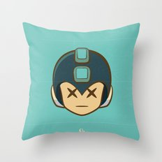 Rockman Repairs Throw Pillow