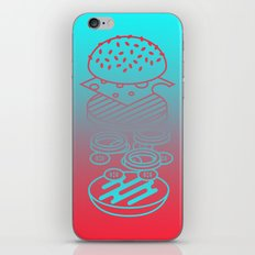 Burgertime iPhone & iPod Skin