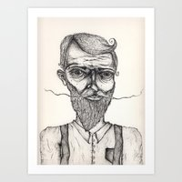 Mister Sir Art Print