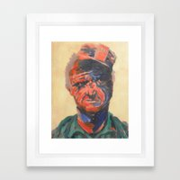 Miner#1 Framed Art Print