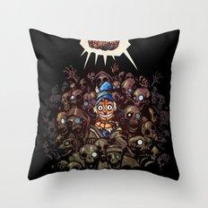 More BRAINS for OZ Throw Pillow
