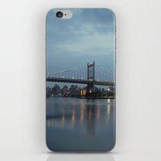 Triborough Bridge at Night. iPhone & iPod Skin