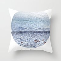 Standing and Staring Throw Pillow