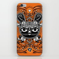 Day Of The Dead Bunny Ce… iPhone & iPod Skin