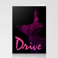 Ryan Gosling in Drive Stationery Cards