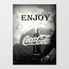 Coca Cola #2 Canvas Print