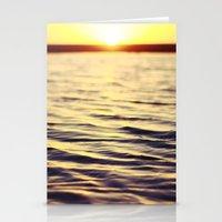 Sunset at Bodega Stationery Cards