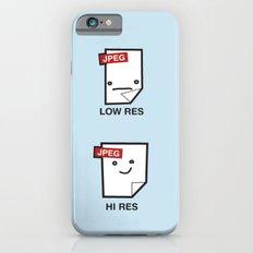 LORES or HI RES Slim Case iPhone 6s