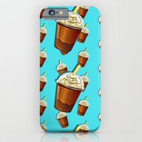 Iced Coffee To Go Pattern iPhone 6 Slim Case
