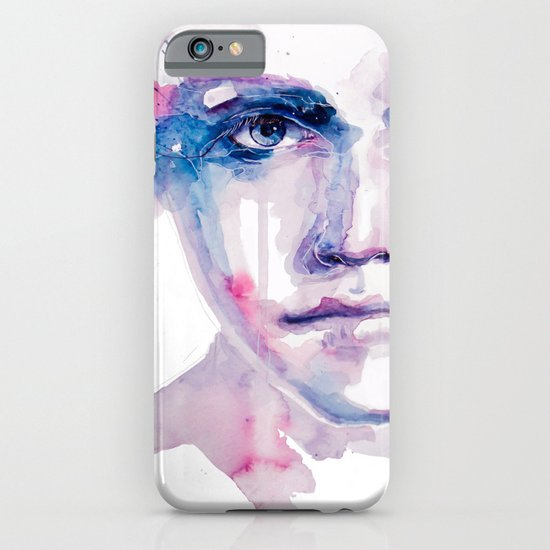 ragazza falena iPhone & iPod Case