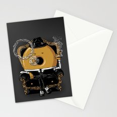 Gangster Donut Stationery Cards