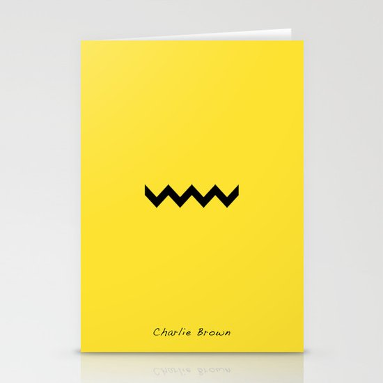 Charile Brown Stationery Card
