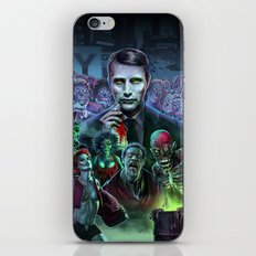 Hannibal Holocaust - They Live Return of the Living Dead Mads Mikkelsen  iPhone & iPod Skin