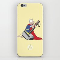 The Catty Thor iPhone & iPod Skin
