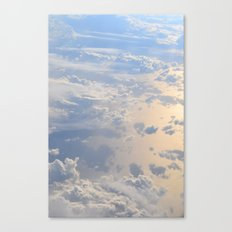 The Clouds Below Canvas Print