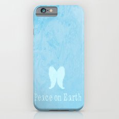 Peace On Earth Angel Wings iPhone 6 Slim Case