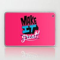 Make It Laptop & iPad Skin