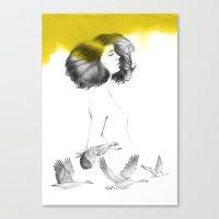 Cècile Canvas Print