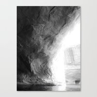 In the cove. Canvas Print