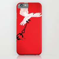 """iPhone & iPod Case featuring Glue Network Print Series """"Justice & Freedom"""" by Blaine Fontana"""