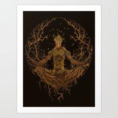 Groot Mandala Art Print