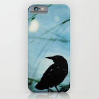iPhone & iPod Case featuring The Raven and the Orb by Bella Blue Photography