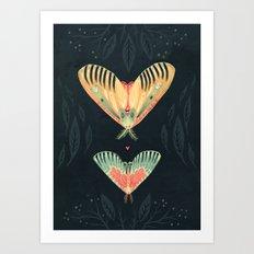 Moth Wings I Art Print