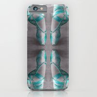 Ballet Shoe Blue reflection iPhone 6 Slim Case