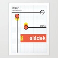 sladek single hop Art Print