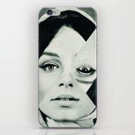iPhone & iPod Skin featuring Frau Mit Dreieck 2 by Marko Köppe