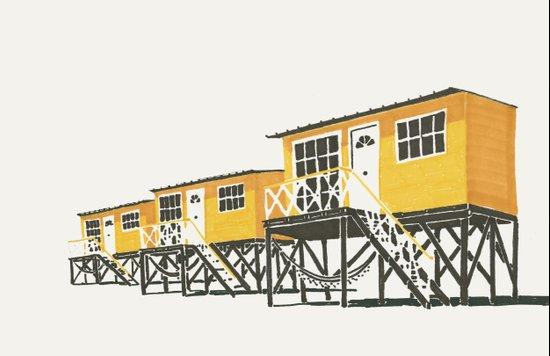 On Paper: Tres Amarillos Art Print