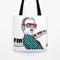 Vintage Elton - Analog Z… Tote Bag