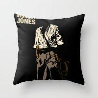Indiana Jones: Raiders of the Lost Ark Throw Pillow