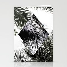 Palm Leaves 3 Geometry Stationery Cards