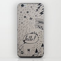 HELLO! iPhone & iPod Skin